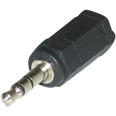 Αντάπτορας 3,5mm Stereo αρσ.- 2,5mm Stereo θηλ
