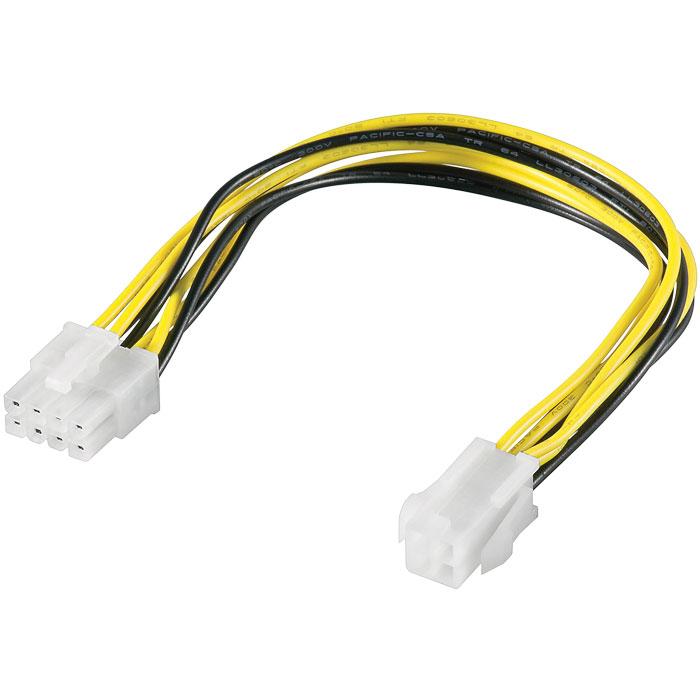 Καλώδιο Τροφοδοσίας ATX-12V PCIe 8 pin M. σε 4 pin F