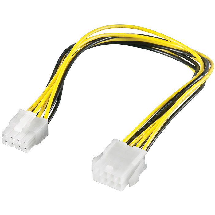 Power Supply extension cable 8pin 51361