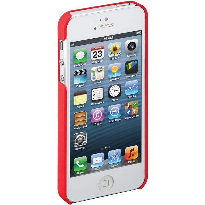 62716 CASE FOR IPHONE 5 RED GOOBAY