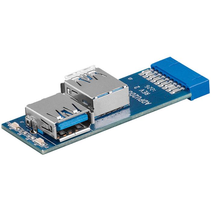 Αντάπτορας με 2 θύρες USB 3.0 55005