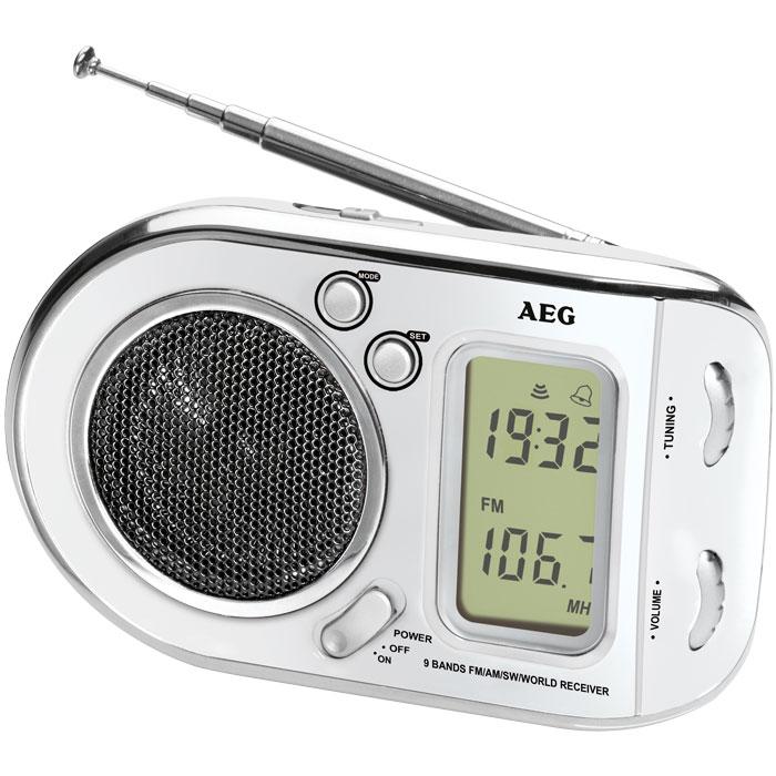 Φορητό ραδιόφωνο - ξυπνητήρι AEG WE 4125