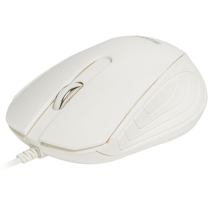 WIRED MOUSE SWEEX NPMI1180-01 WHITE