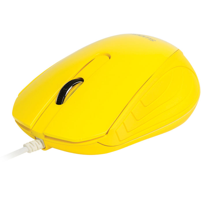 WIRED MOUSE SWEEX NPMI1180-05 YELLOW