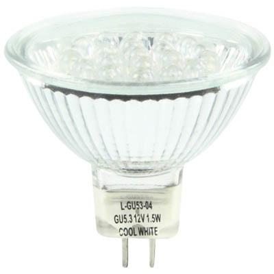 Λαμπτήρας οικονομίας LED MR16 GU5.3 1.5W