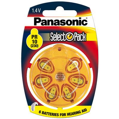 Μπαταρία ακουστικών βαρηκοΐας PR10L/6DC