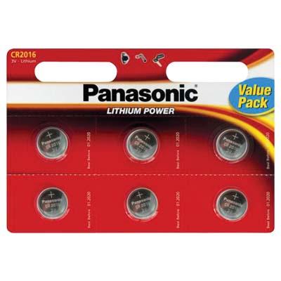 Μπαταρία λιθίου PANASONIC 3V CR2025L/6BP