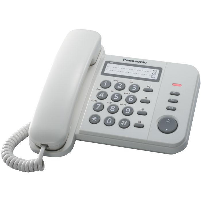 Ενσύρματη τηλεφ. Συσκευή KX-TS520EX2W