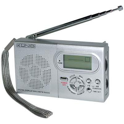 Φορητό ραδιόφωνο KONIG HAV-PR 10