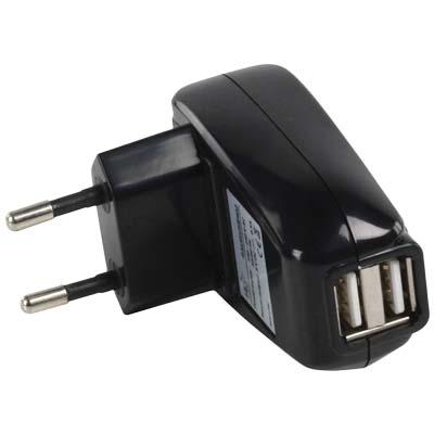 Φορτιστής me 2 USB Θύρες P.SUP.USB 402