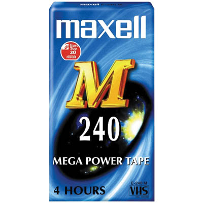 MAX-E 240M - Κασέτα VHS