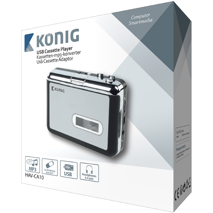 HAV-CA 10 USB CASSETTE ADAPTOR KONIG