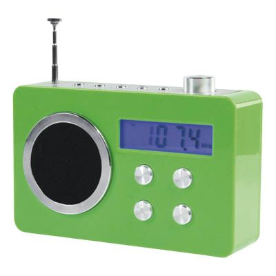 BXL-TR 250 GREEN - FM Ραδιόφωνο