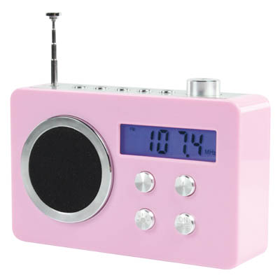 BXL-TR 250 PINK - FM Ραδιόφωνο