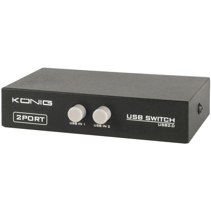 Switch 2 USB B σε 1 USB A