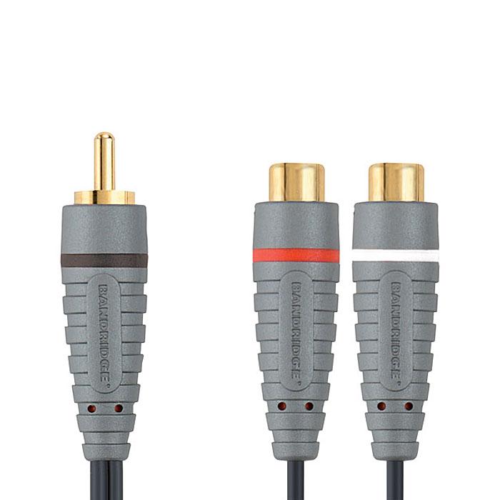 Sound Cable 2x RCA θηλ - RCA αρσ - BAL 4500