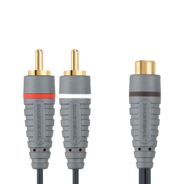 Sound Cable 2x RCA αρσ - RCA θηλ - BAL 4600