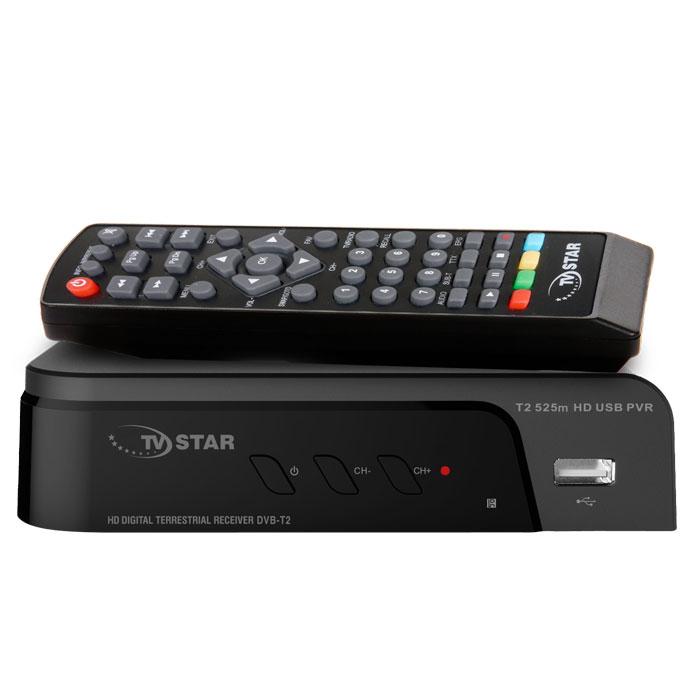 Επίγειος Ψηφιακός Δέκτης TV STAR T2 525 HD