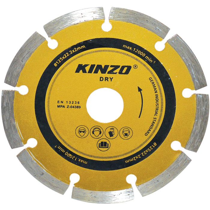 Δίσκος διαμαντέ ξηρής κοπής - KINZO 71758