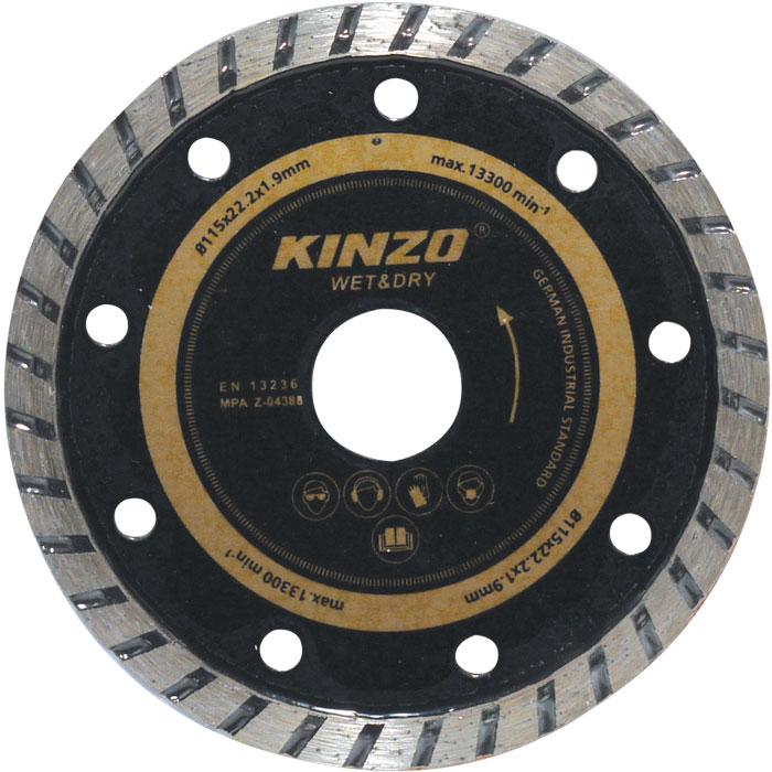 Δίσκος υγρής/ξηρής κοπής - KINZO 71761