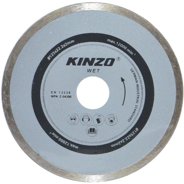 Διαμαντέ δίσκος υγρής κοπής - KINZO 71766
