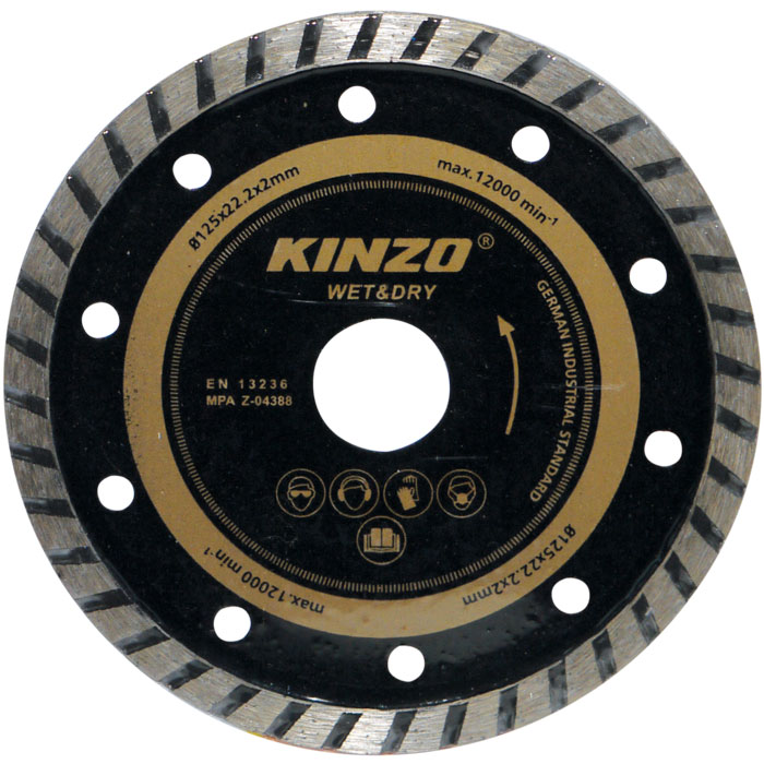 Δίσκος διαμαντέ κοπής - KINZO 71762