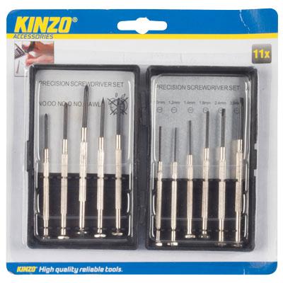 Σετ κατσαβίδια ακριβείας - KINZO 79475