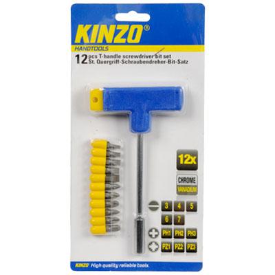Σετ κατσαβίδι Τ - KINZO 72030