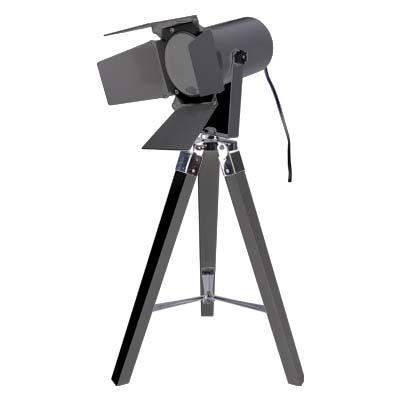 GRUNDIG51497 BLACK Επιτραπέζιο φωτιστικό