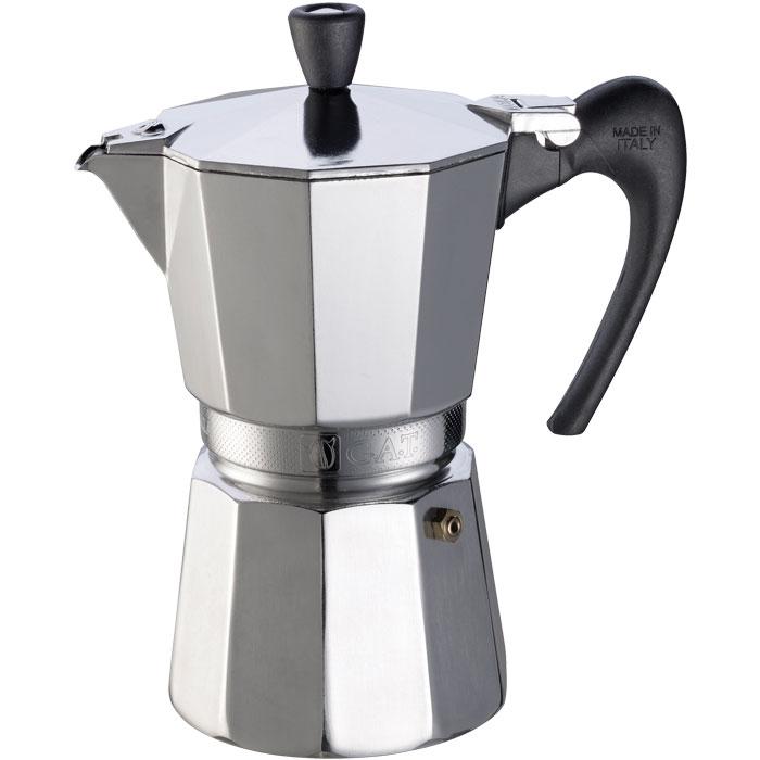 Ιταλική καφετιέρα espresso GAT 103406 AROMA VIP 6 CUPS