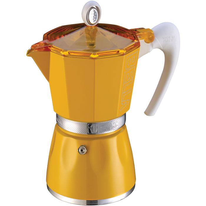 Ιταλική καφετιέρα espresso GAT 103803 YELLOW BELLA 3 CUPS
