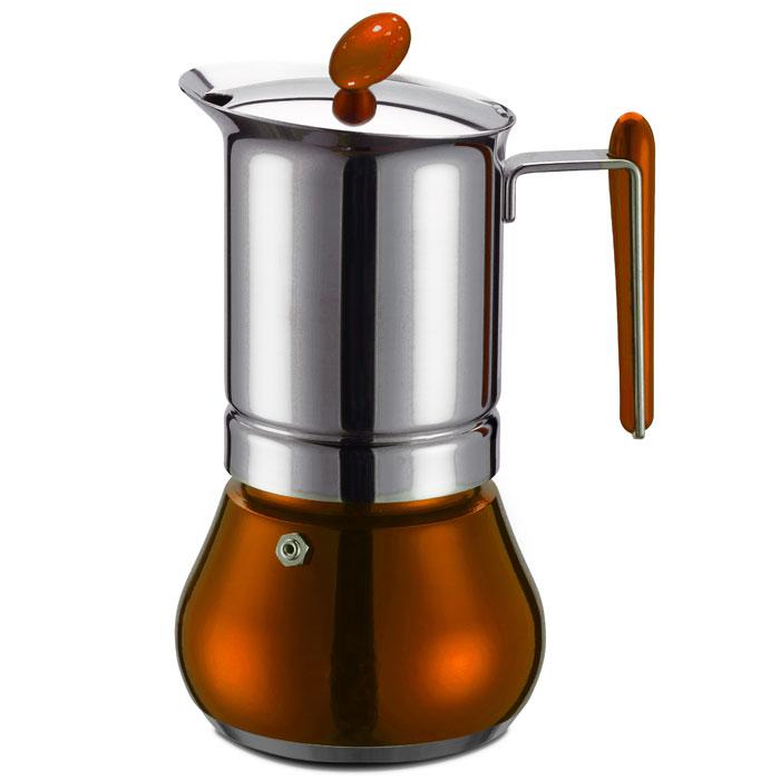 Ιταλική καφετιέρα espresso GAT 251004 COPPER ANNETTA 4 CUPS INOX