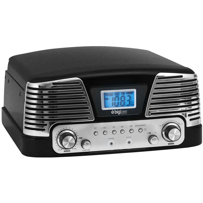 Ρετρό Πικάπ / Ραδιόφωνο Big Ben TD016NM BLACK