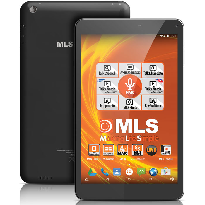 MLS IQTAB ACTION 4G BLACK