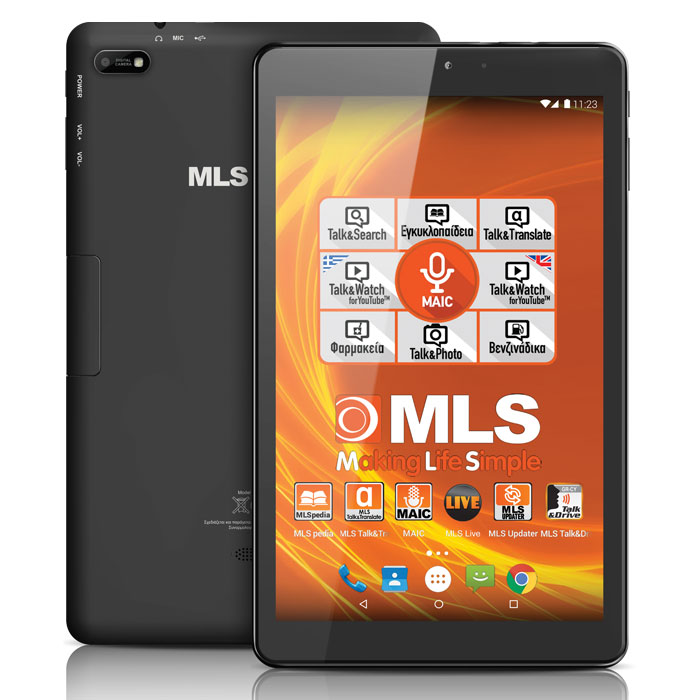 MLS IQTAB BRAVE 3G BLACK
