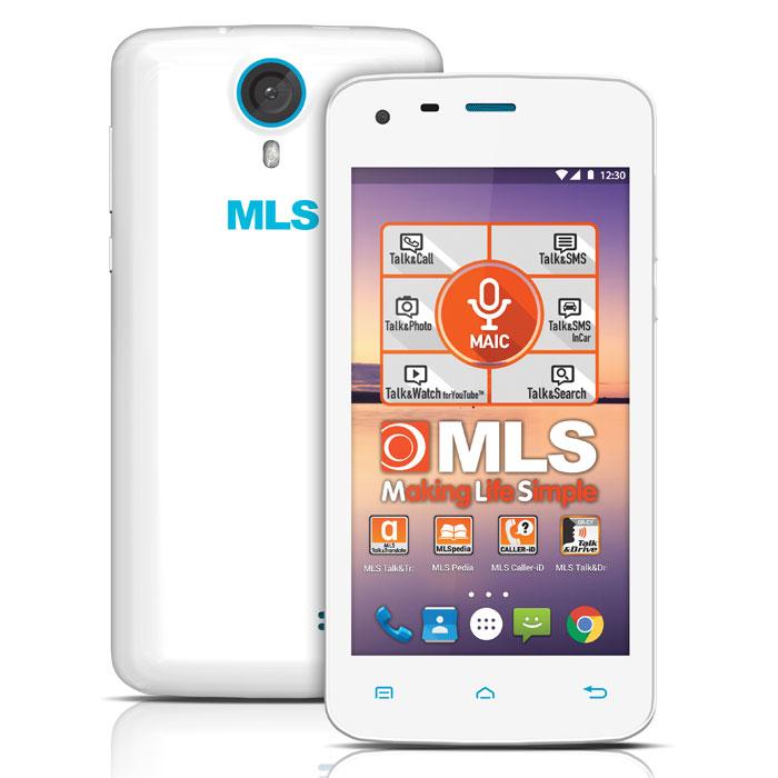 MLS COLOR MINI 4G WHITE DUAL SIM