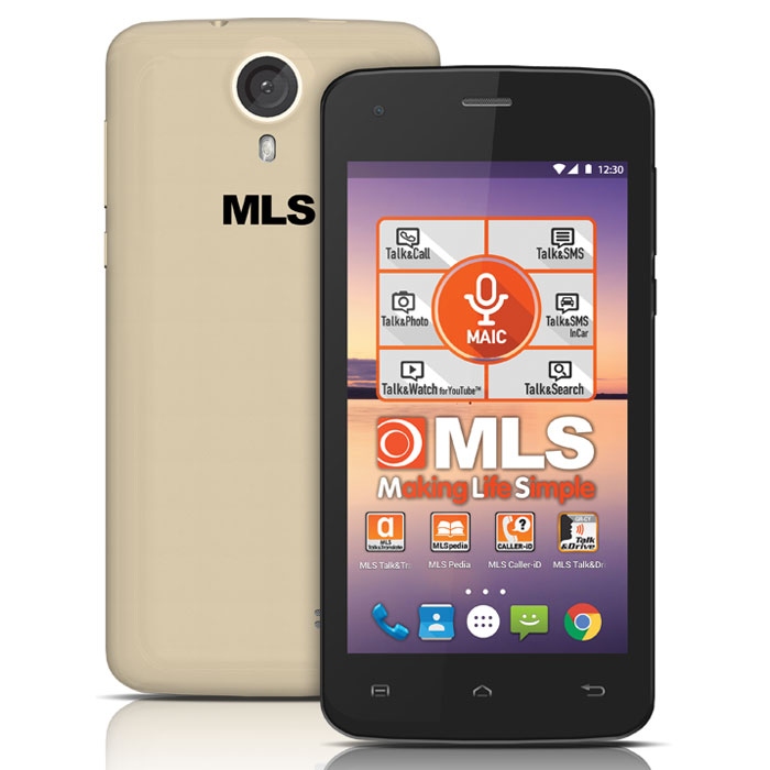 MLS COLOR MINI 4G CHAMPAGNE DUAL SIM