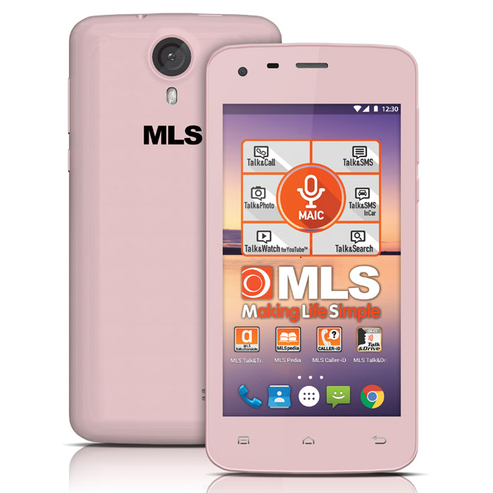 MLS COLOR MINI 4G PINK DUAL SIM