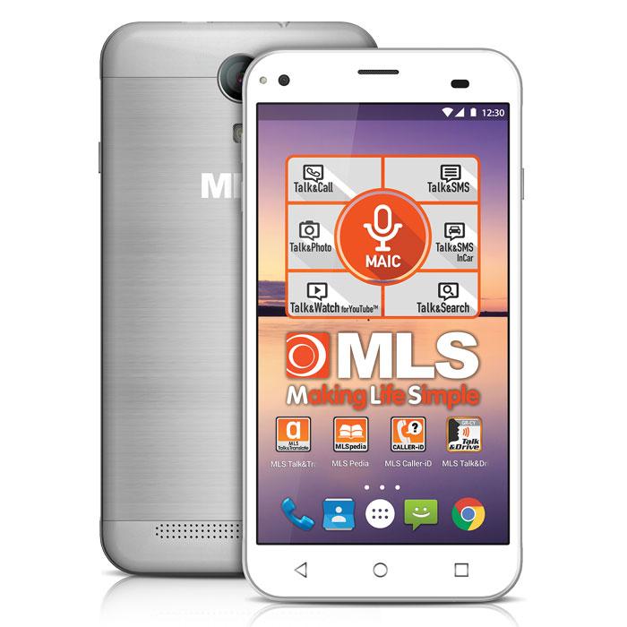 MLS ALU 3G SILVER DUAL SIM (5in)