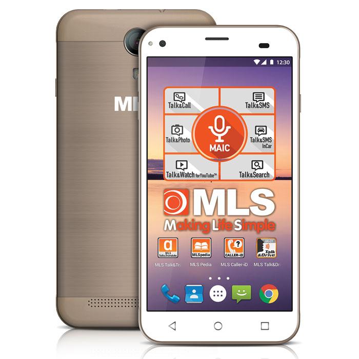MLS ALU 3G CHAMPAGNE DUAL SIM (5in)