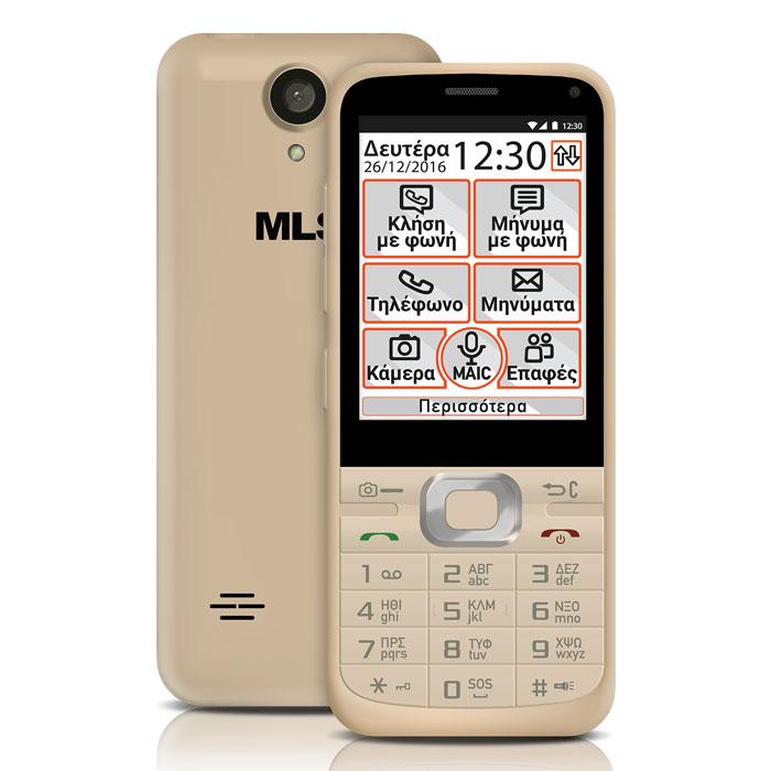 MLS EASY S 4G CHAMPAGNE DUAL SIM
