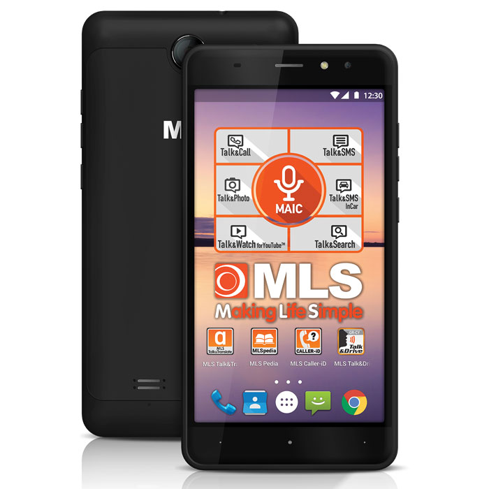 MLS ALU 3G BLACK DUAL SIM (5,5 in)