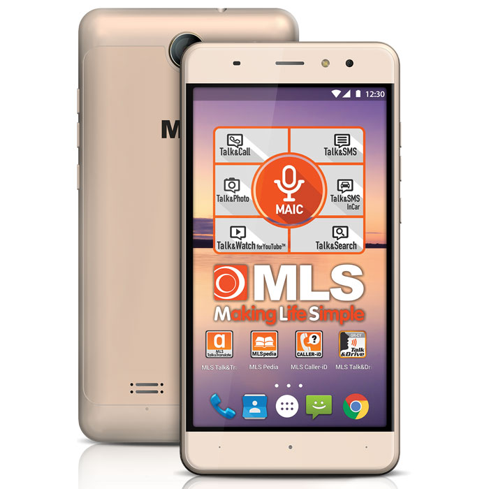 MLS ALU 3G GOLD DUAL SIM (5,5 in)