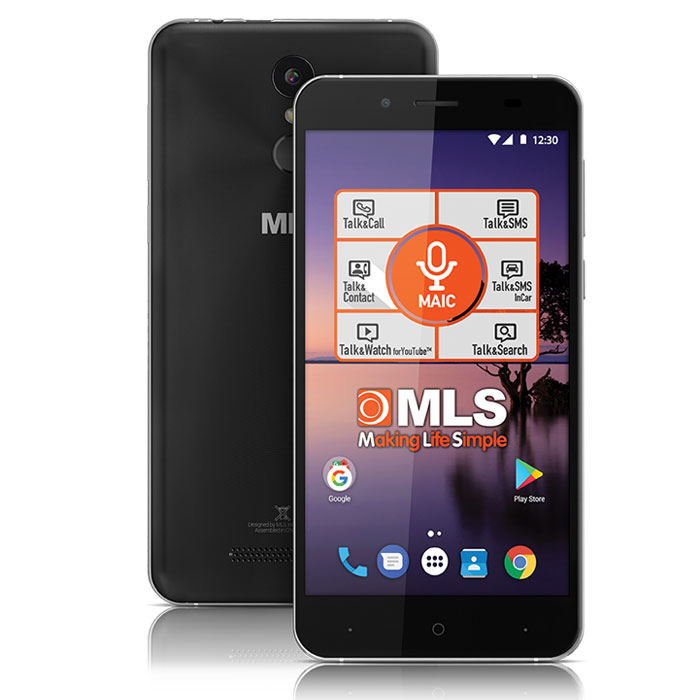 MLS COLOR FINGERPRINT 4G BLACK DUAL SIM