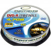 ESP DVD-R 4,7GB X16 PRINTABLE - CAKE BOX 10 PCS